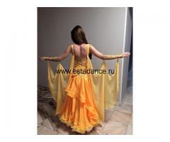 Яркое платье st из итальянской ткани