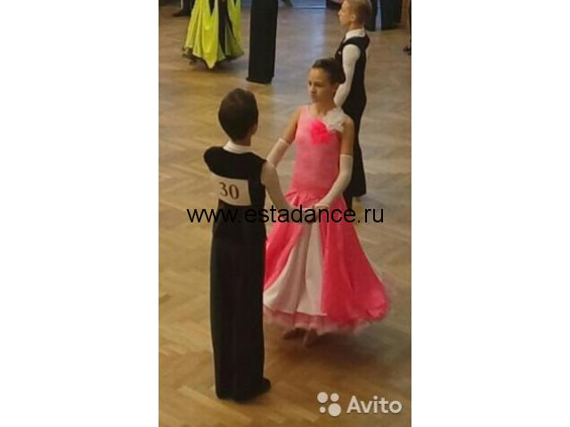Танцевальное платье стандарт